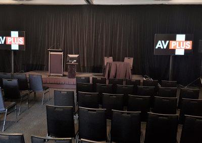 AFC Banquet Room dual 70 TV